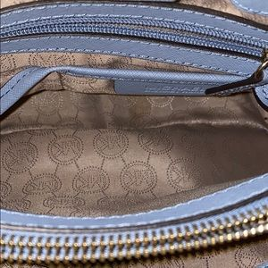 Michael Kors Bags - Michael Kors light blue over the shoulder bag